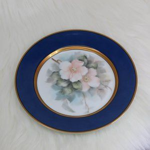 Fitz and Floyd Renaissance Hand Painted plate